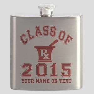 Class Of 2015 Pharmacy Flask