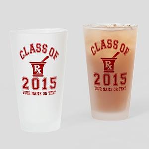 Class Of 2015 Pharmacy Drinking Glass