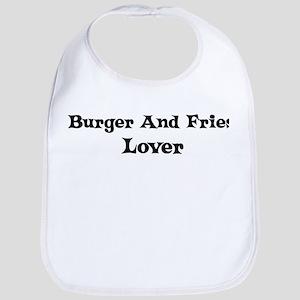 Burger And Fries lover Bib