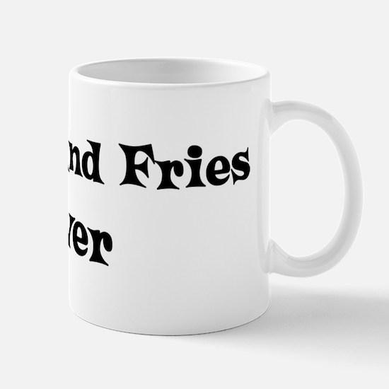 Burger And Fries lover Mug