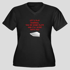 BASEBALL Plus Size T-Shirt