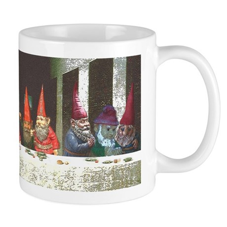 """Gnome"" Last Supper Mug Mugs"