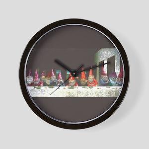 """""""Gnome"""" Last Supper Wall Clock"""