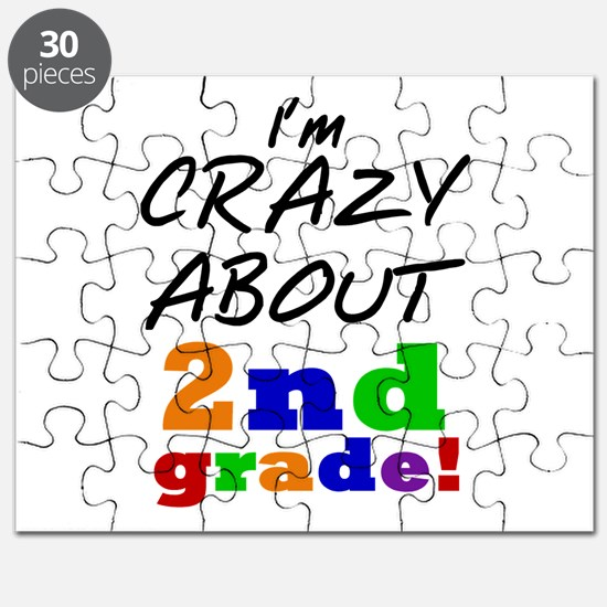 Crazy About 2nd Grade Puzzle