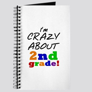 Crazy About 2nd Grade Journal