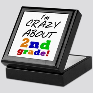 Crazy About 2nd Grade Keepsake Box
