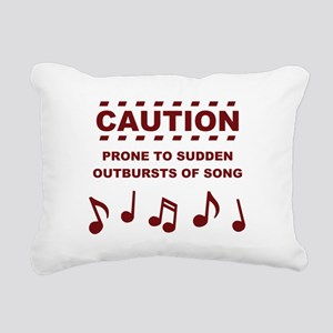 Caution Prone to Sudden Outbursts of Song Rectangu