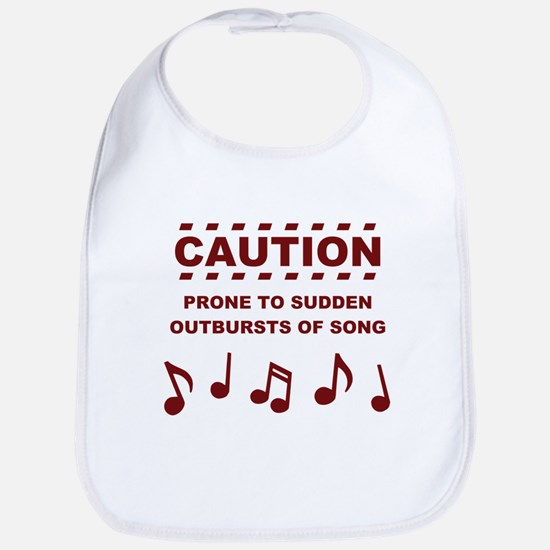 Caution Prone to Sudden Outbursts of Song Bib