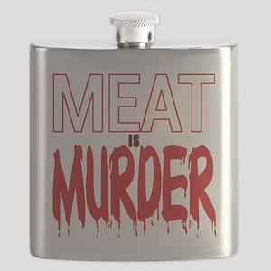 MEAT IS MURDER (BLOODY) Flask