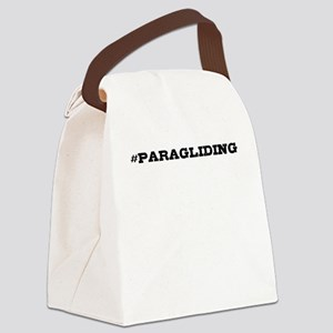 Paragliding Hashtag Canvas Lunch Bag