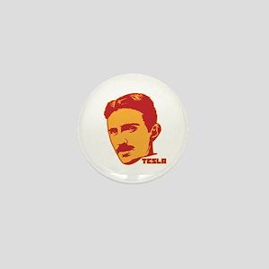 Nikola Tesla Mini Button