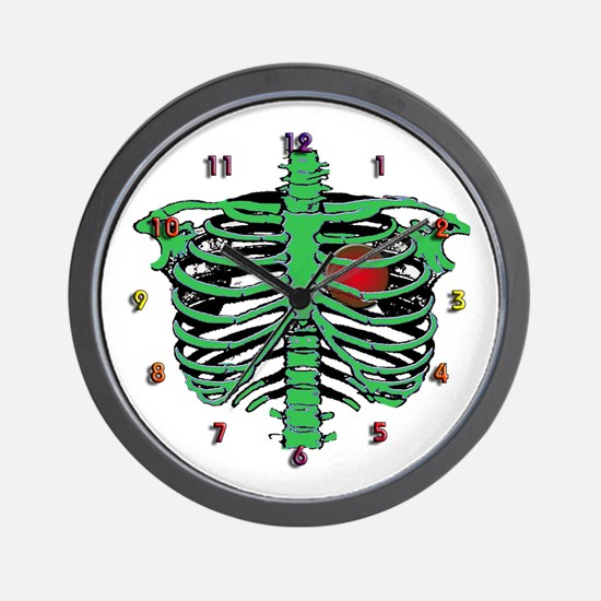 Halloween skeleton Wall Clock