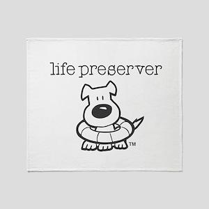 Life Preserver Throw Blanket