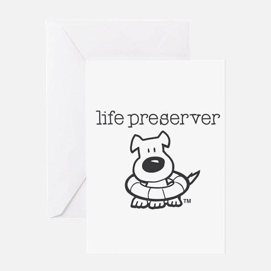 Life Preserver Greeting Cards