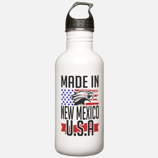 MADE IN NEW MEXICO USA Water Bottle
