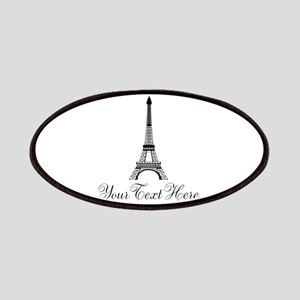 Personalizable Eiffel Tower Patches