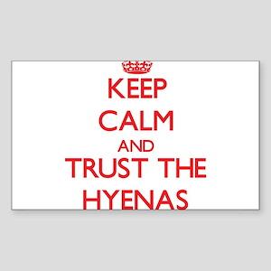 Keep calm and Trust the Hyenas Sticker