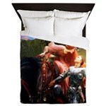Knight in Shining Armor Queen Duvet