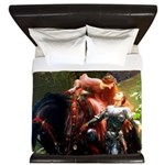 Knight in Shining Armor King Duvet