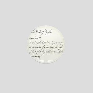 Second Amendment Mini Button
