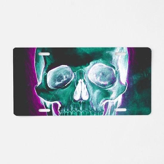 Cranium Aluminum License Plate
