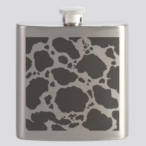 Cow Print Pattern Flask