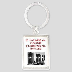 elevator Keychains
