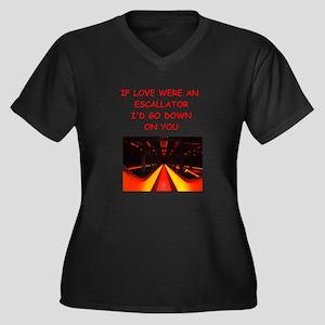 escalator Plus Size T-Shirt