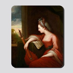 Lady with a Lute Mousepad