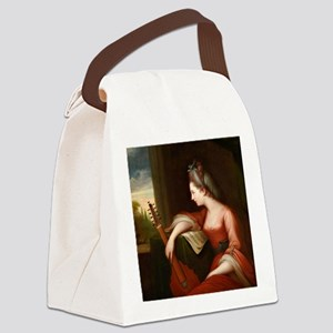 Lady with a Lute Canvas Lunch Bag