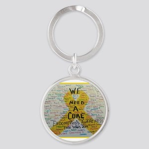 WE NEED A CURE Keychains