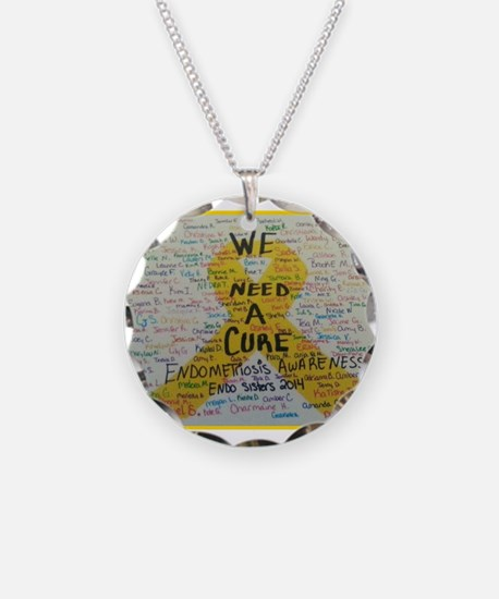 WE NEED A CURE Necklace