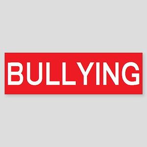 stop bullying Bumper Sticker