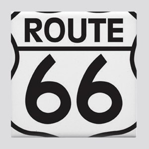 get your kicks on route 66 Tile Coaster