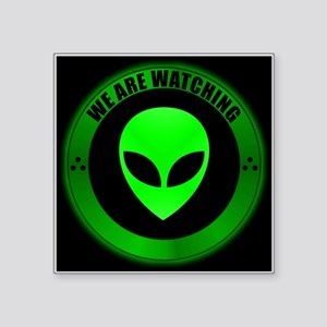"Alien Seal Square Sticker 3"" x 3"""