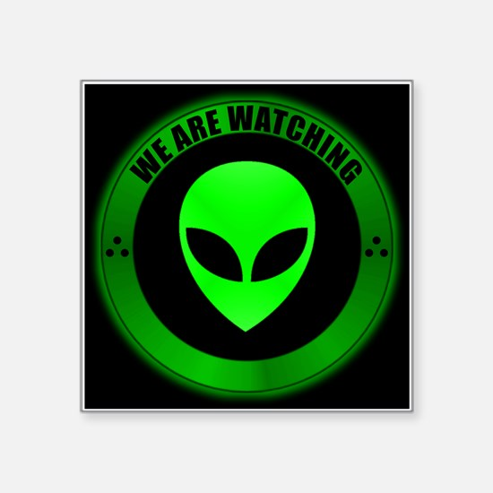"""Alien Seal.png Square Sticker 3"""" x 3"""""""
