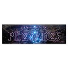 7 Sisters Of The Pleiades Bumper Sticker