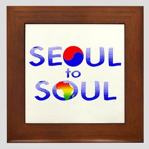 Seoul to Soul  Framed Tile