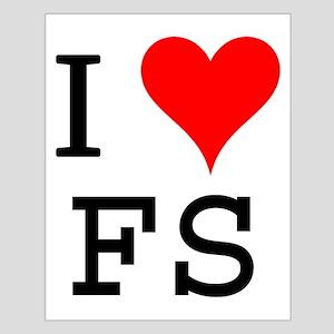 I Love FS Small Poster