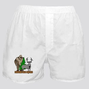 Finding big bucks Boxer Shorts