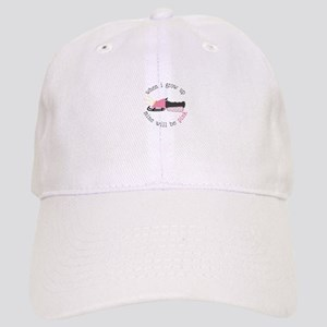 60588e6efc7 When I Grow up Mine Will Be Pink Baseball Cap
