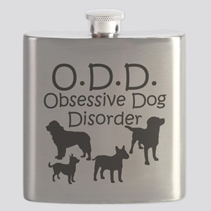 Obsessive Dog Disorder Flask