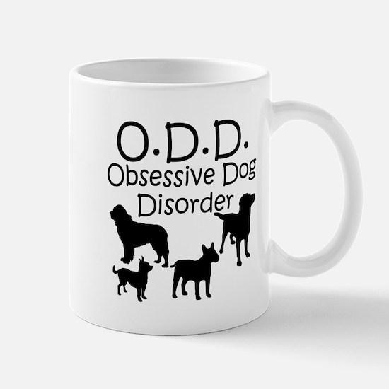 Obsessive Dog Disorder Mugs