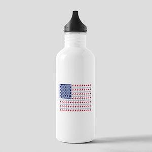 Cat Flag Water Bottle