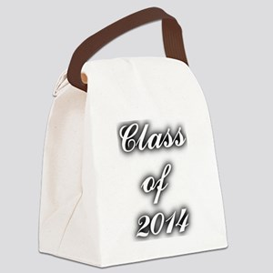 Class of 2014 - with black shadow Canvas Lunch Bag