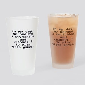 Ch 3 Gamer Drinking Glass