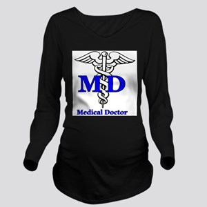 MD4 Long Sleeve Maternity T-Shirt