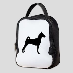 Basenji Dog Neoprene Lunch Bag