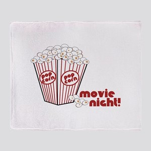 Movie Nicht! Throw Blanket