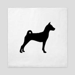 Basenji Dog Queen Duvet